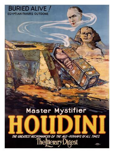Houdini Giclee Print
