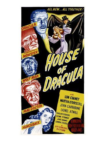 House of Dracula, 1945 Photo