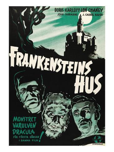 House of Frankenstein, (aka Frankenstein's Hus), 1944 Photo