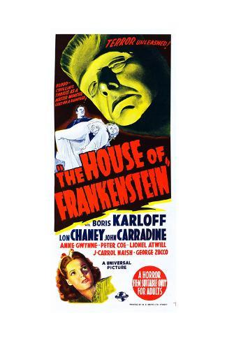 House of Frankenstein, Boris Karloff, Anne Gwynne, 1944 ジクレープリント