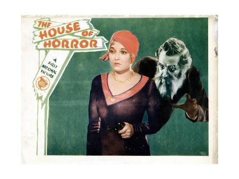 House of Horror, (aka the Haunted House), Thelma Todd, Emile Chautard, 1929 Giclee Print