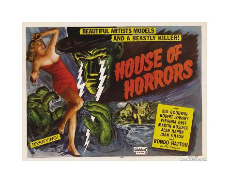 House Of Horror Giclee Print