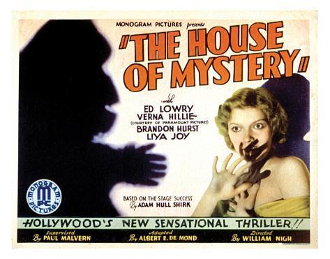 House Of Mystery - 1934 II Giclee Print