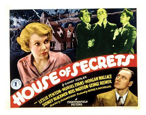 House Of Secrets - 1936 I Impressão giclée