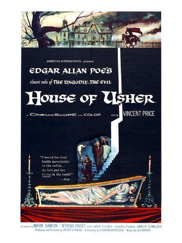 House of Usher, (aka the Fall of the House of Usher), 1960 Photo