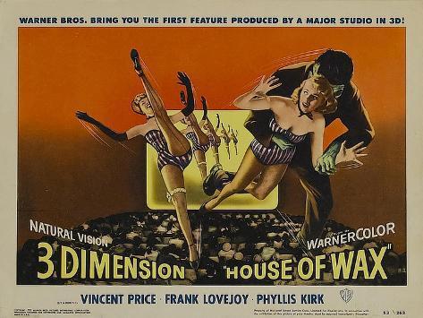 House of Wax, 1953 Art Print