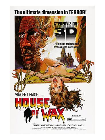 House of Wax, Vincent Price, 1953 Photo
