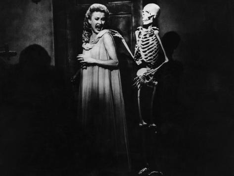 House On Haunted Hill, Carol Ohmart, 1959 Foto