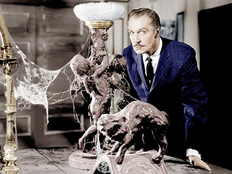 House on Haunted Hill, Vincent Price, 1959 Fotografía