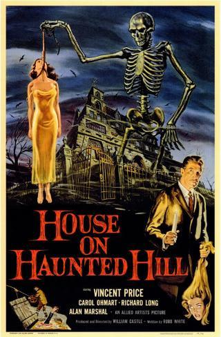 House on Haunted Hill Masterprint
