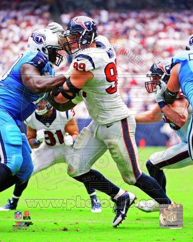 Houston Texans - J.J. Watt Photo Photo