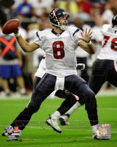 Houston Texans - Matt Schaub Photo Photo