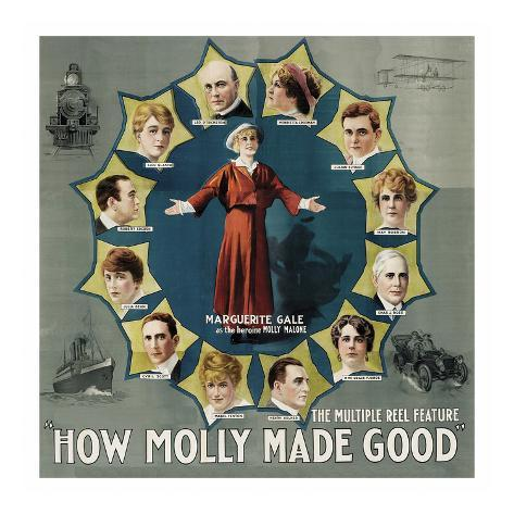 How Molly Made Good Art Print