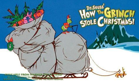 How the Grinch Stole Christmas Masterprint
