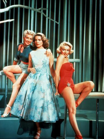 How To Marry A Millionaire, Betty Grable, Lauren Bacall, Marilyn Monroe, 1953 Photo
