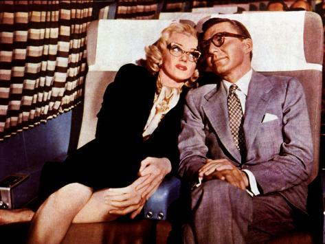 How To Marry A Millionaire, Marilyn Monroe, David Wayne, 1953 Photo