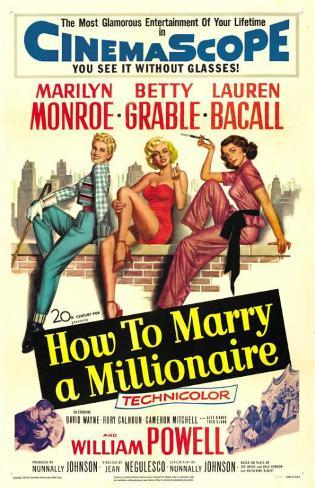 How to Marry a Millionaire Masterprint