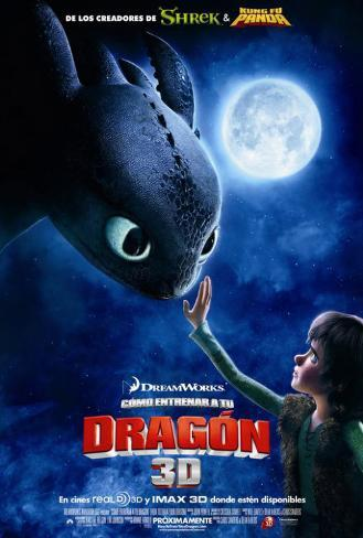 How to Train Your Dragon - Mexican Style Pôster