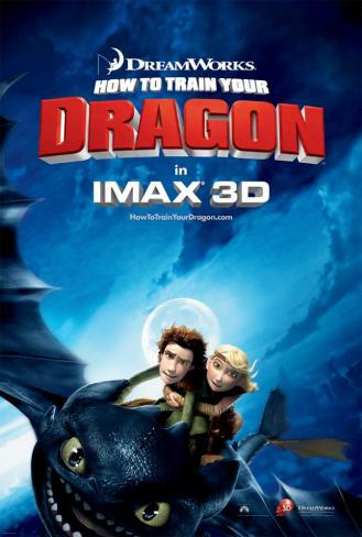 How to Train Your Dragon ポスター