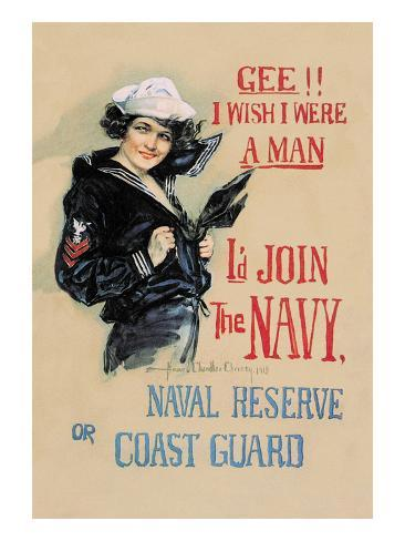 analysis gee i wish i were Gee i wish i were a man, i'd join the navy be a man and do it - united states navy recruiting station / digital id: (digital file from color film copy transparency) cph 3b52630.
