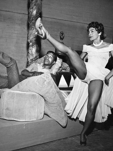 Sammy Davis Jr. - 1954 Photographic Print