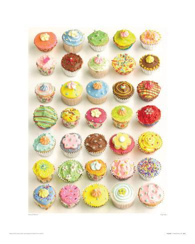 Cup Cakes Giclee Print
