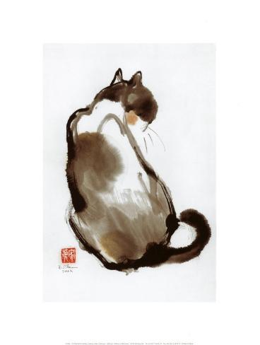 Cat's Back Art Print