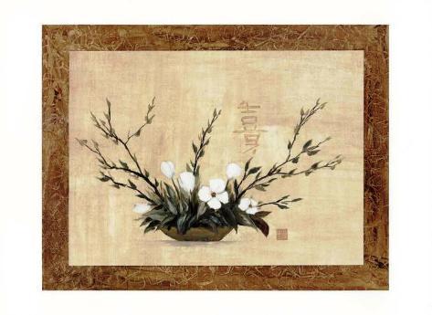 Oriental Art IX Framed Art Print