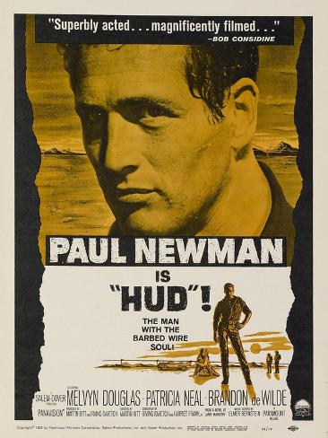 Hud, 1963 Art Print