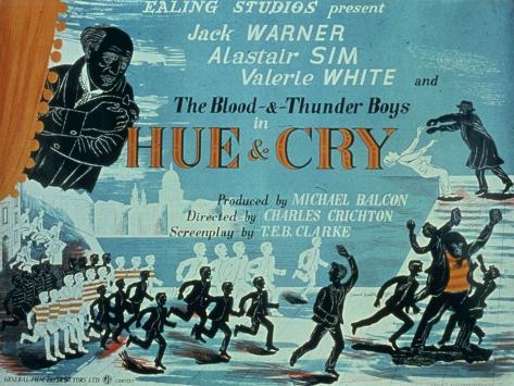 Hue and Cry Art Print