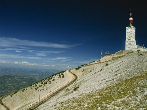 Summit of Mont Ventoux in Vaucluse, Provence, France, Europe Photographic Print