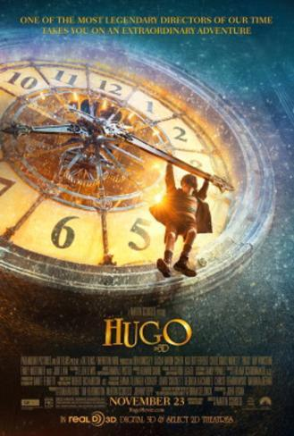 Hugo (Ben Kingsley, Sacha Baron Cohen, Asa Butterfield) Movie Poster Double-sided poster