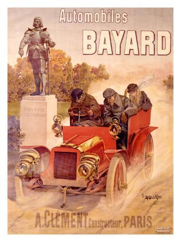 Autos Bayard Giclee Print
