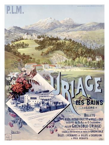 Uriage les Bains Giclee Print