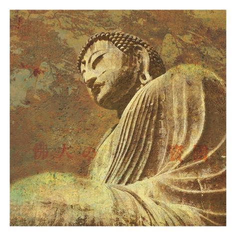 Asian Buddha II Art Print