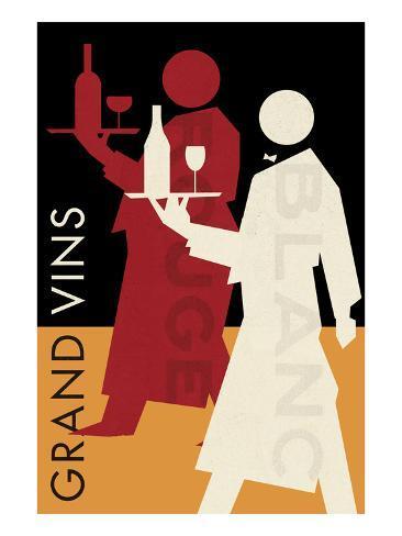 Grand Vins Art Print