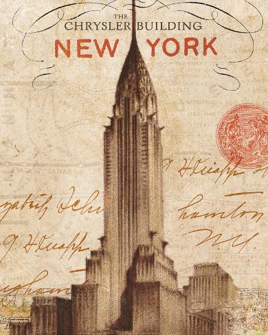 Letter from New York Art Print