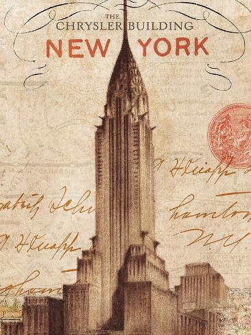 Letter from New York Premium Giclee Print