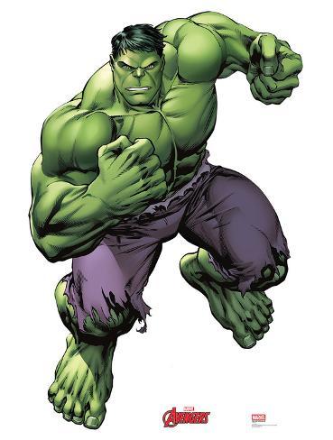 Hulk - Marvel Avengers Assemble Lifesize Standup Cardboard Cutouts