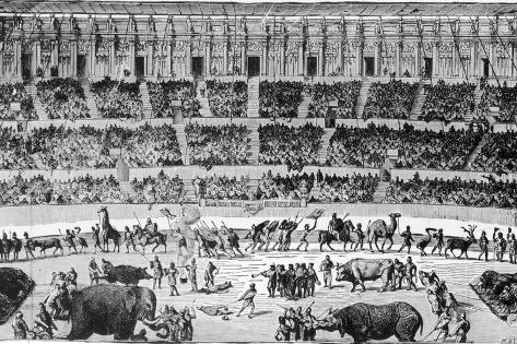 A Roman Circus Photographic Print