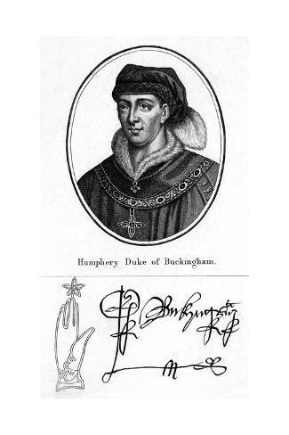 Humphrey Duke Buckingham Stampa giclée