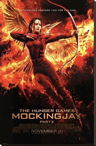 Hunger Games- Mockingjay Part 2 Last Bow Impressão em tela esticada