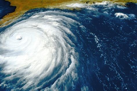 Hurricane Floyd Photographic Print