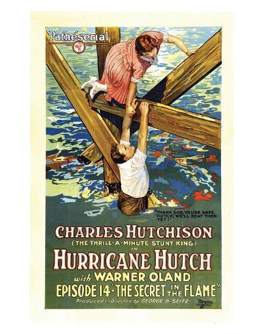 Hurricane Hutch - 1921 II Giclee Print