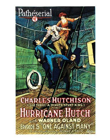 Hurricane Hutch - 1921 III Giclee Print
