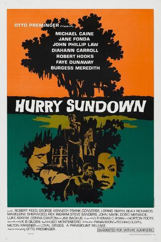 Hurry Sundown, 1967, Directed by Otto Preminger Giclee Print