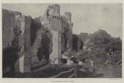 Hurstmonceux Castle, Sussex Giclee Print