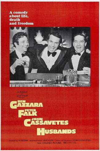 Husbands: a Comedy About Life, Death And Freedom, Directed by John Cassavetes, 1970 Giclee Print