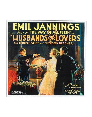 Husbands Or Lovers - 1924 I Giclee Print