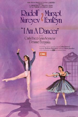 I Am a Dancer Art Print